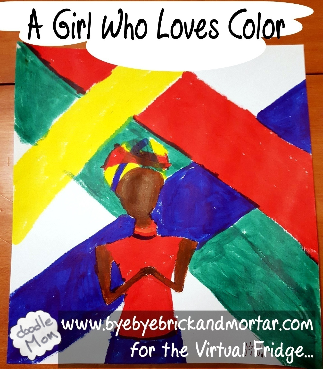 A Girl Who Loves Color