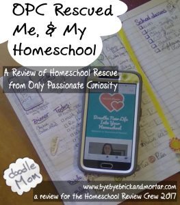 OPC Rescued Me, and My Homeschool