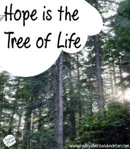 Hope is the Tree of Life | DoodleMom's Homeschooling Life