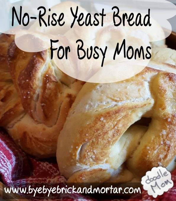 No-Rise Yeast Bread for Busy Moms