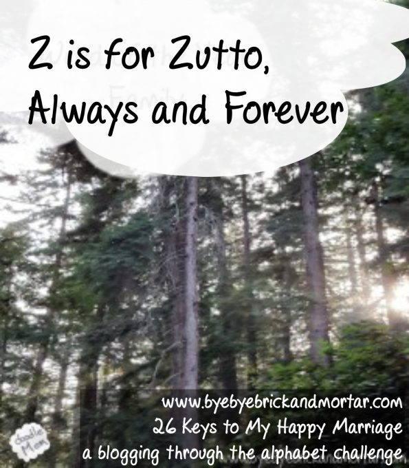 Z is for Zutto