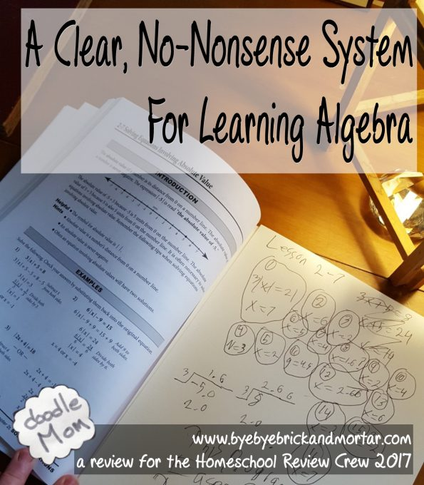 clear no-nonsense sytem for learning algebra