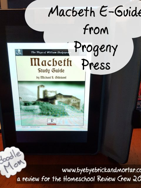 Macbeth E-Guide from Progeny Press