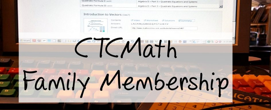 CTCMath Family Membership