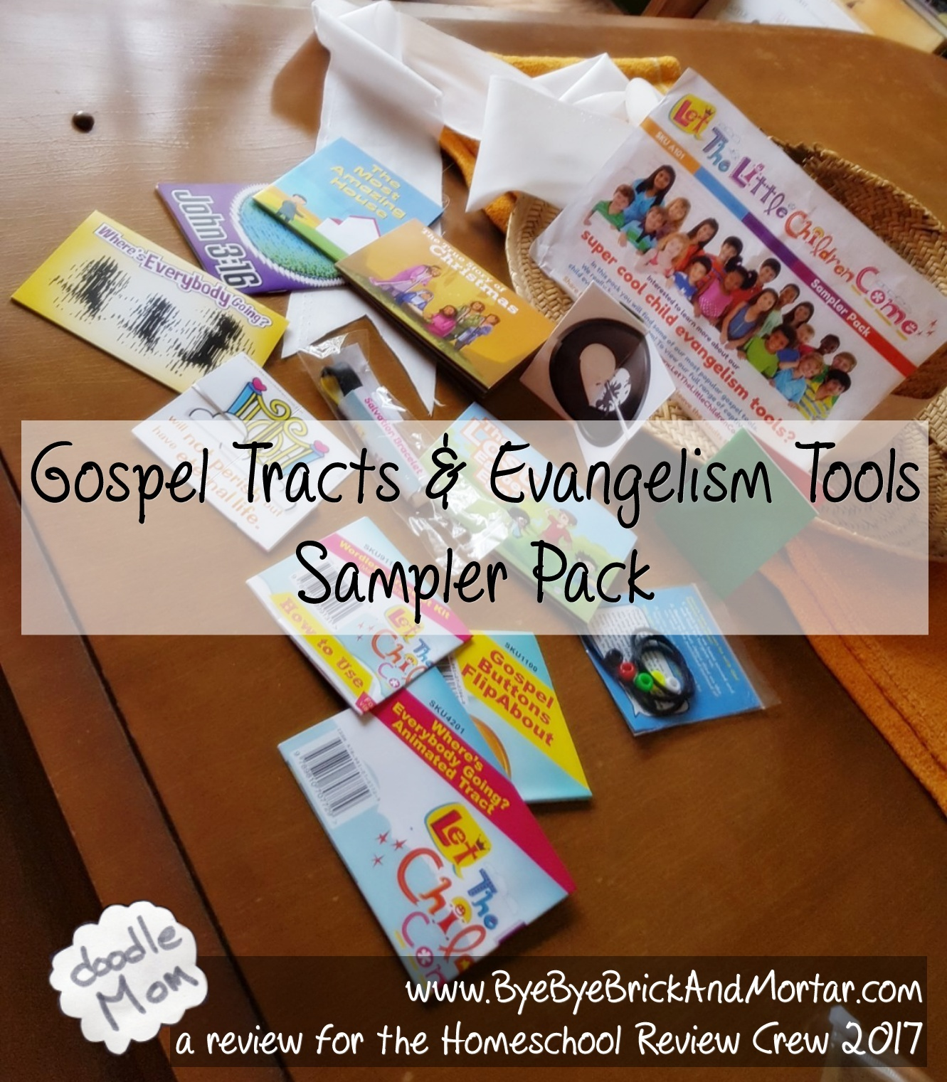 Gospel Tracts and Evangelism Tools Sampler Pack 2