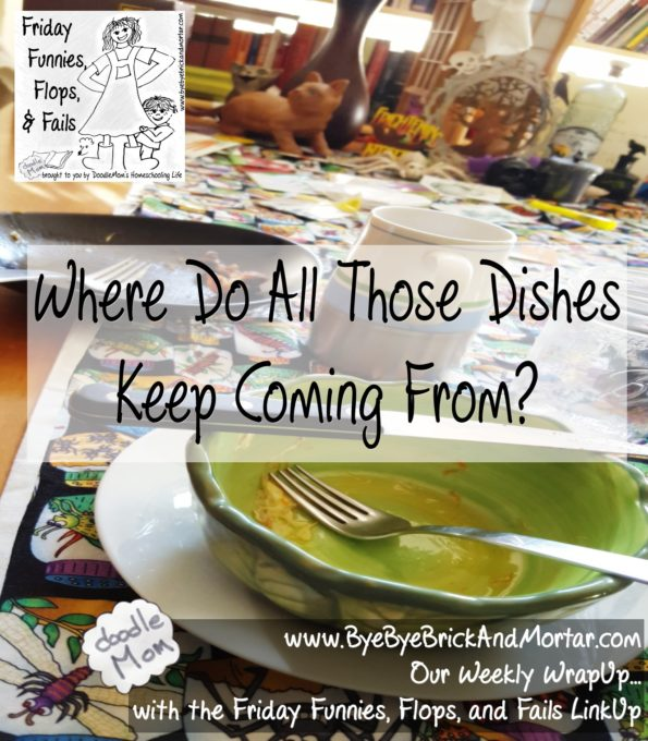 Where Do All Those Dishes Come From?