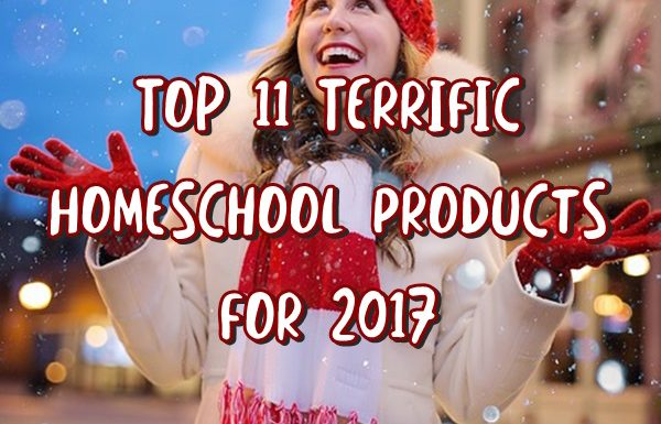 Top 11 Terrific Homeschool Products for 2017