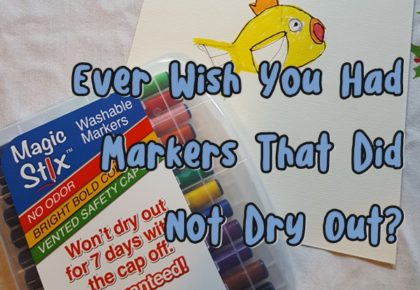 Ever wish you had markers