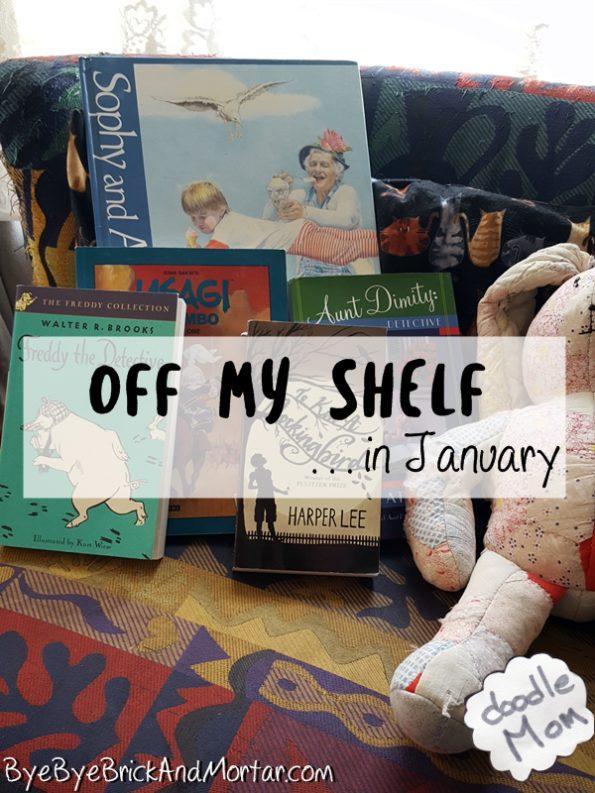 Off My Shelf in January