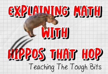 Explaining Math With Hippos That Hop