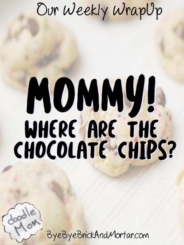 Mommy! Where Are The Chocolate Chips?  {Our Weekly WrapUp} 3