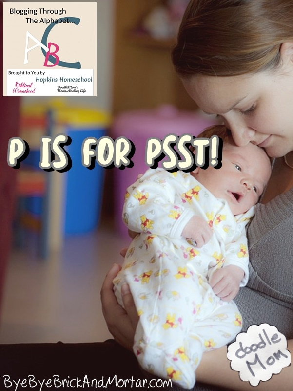 P is for Psst!