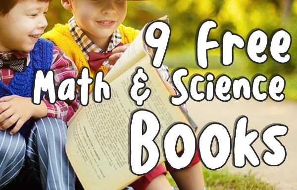 9 Free Math and Science Books For Your Kids