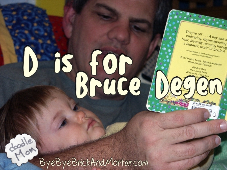 D is for Bruce Degen 8
