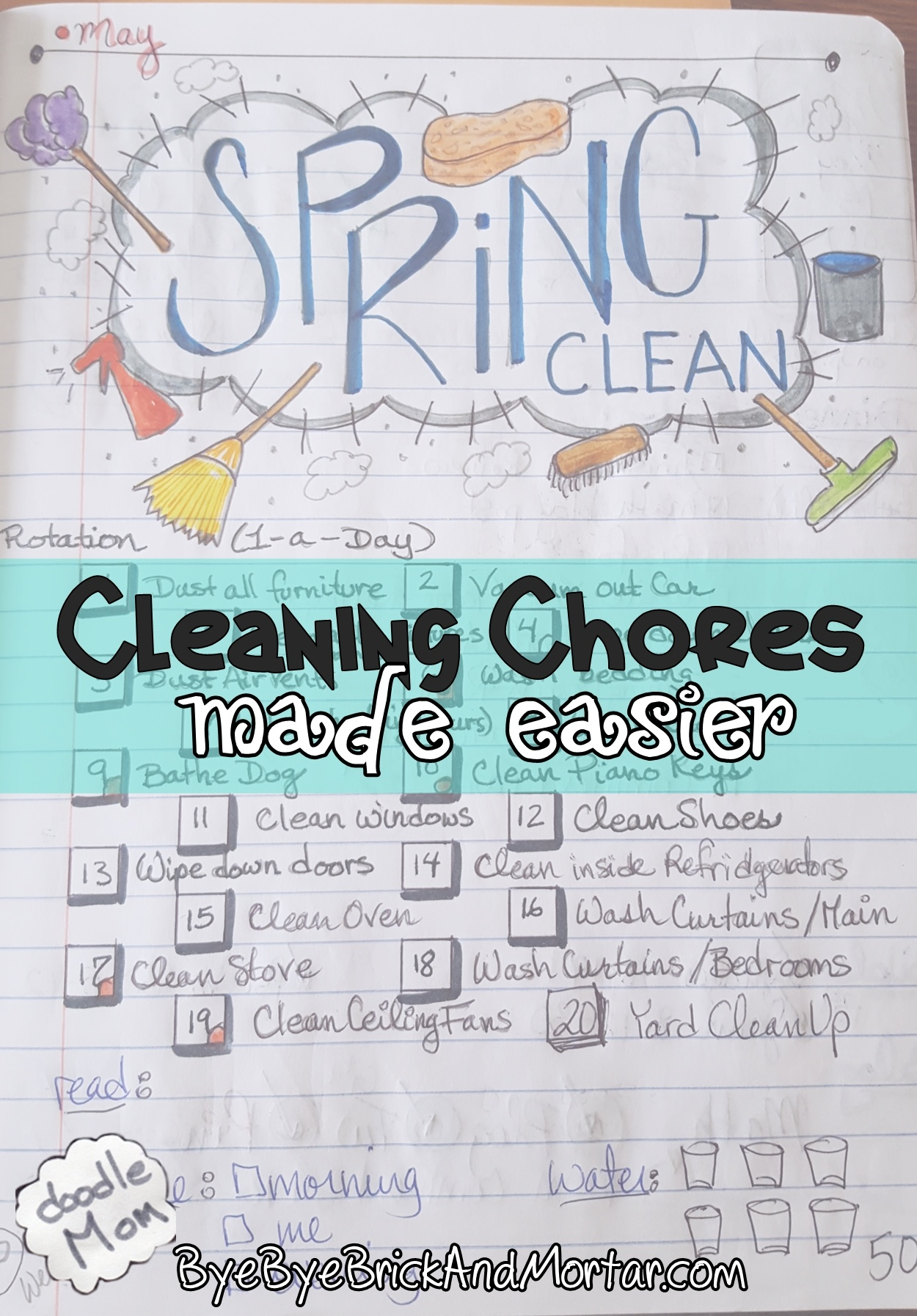 Cleaning Chores Made Easier